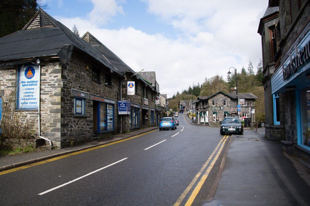 Betwys-y-Coed in Snowdonia