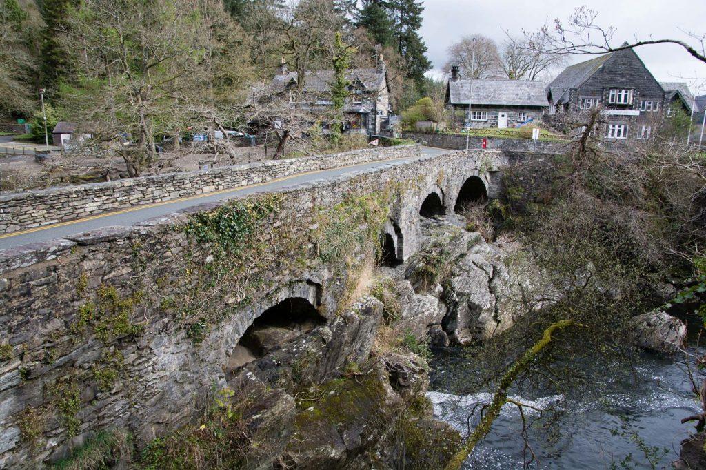 Betws-y-Coed in Snowdonia