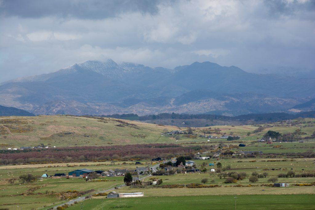 Blick Richtung Snowdonia
