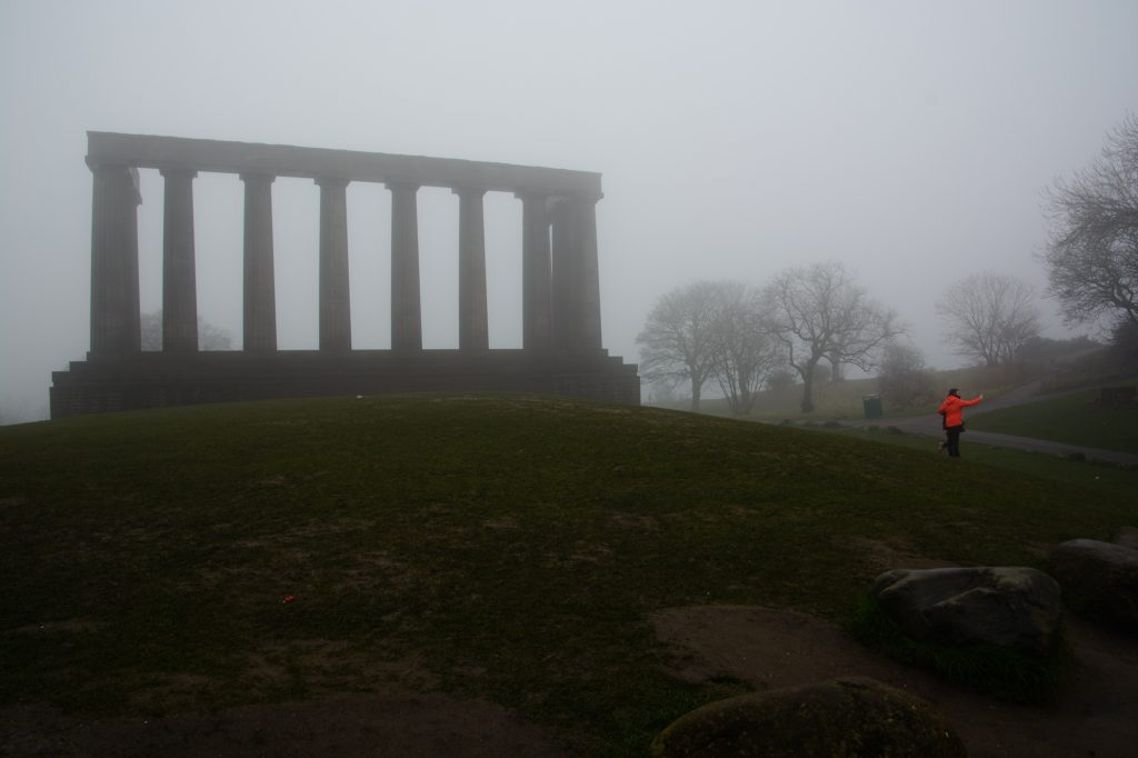 Edinburgh Calton Hill Nelson Monument