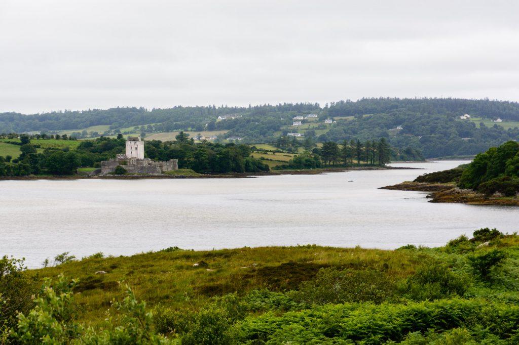 Ausblick auf Doe Castle